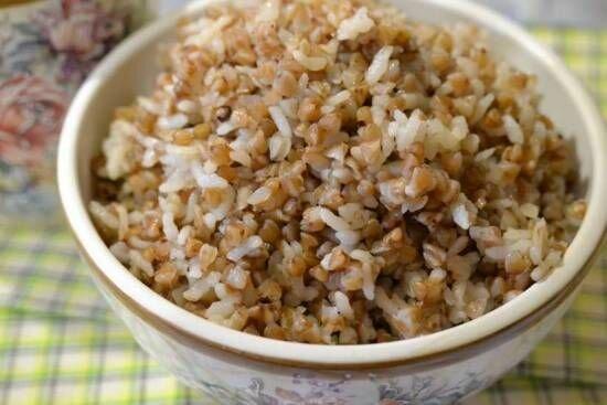 рецепт походной гречневой каши с рисом